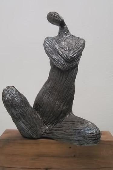 Corps-à-Corps,-Exposition-novembre-2011,-Sculpture-de-Michel-DI-NUNZIO