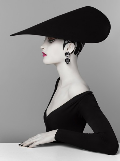 Serge Lutens styled for Shideido