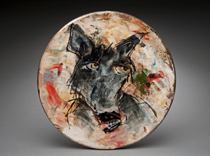 Ron-Meyers-Pottery plate