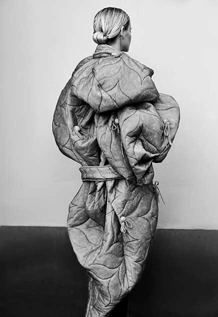 yojiro kake sculptural fashion