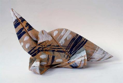 Ceramic Birds figurine by Theodoros Papagiannis