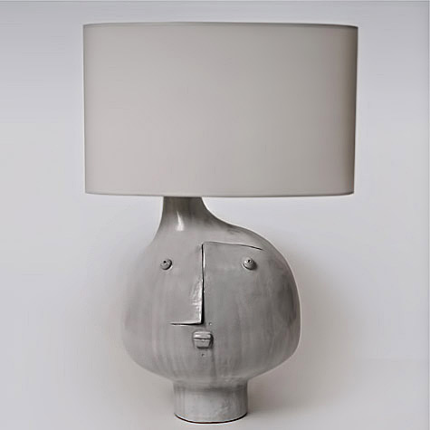 galerie riviera Abstract face table lamp- Dalo