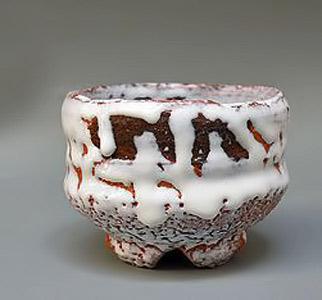 Contemporary-Shiro-Hagi-Chawan-by-Shibuya-Deishi