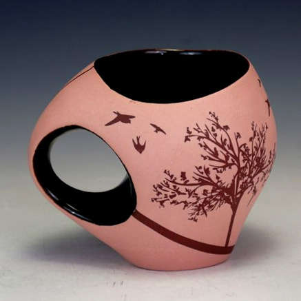 Crimson Laurel Gallery-Andrew Gilliatt-Mug