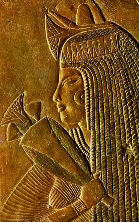 Funerary Relief-,-18th Dynasty-,-The Louvre