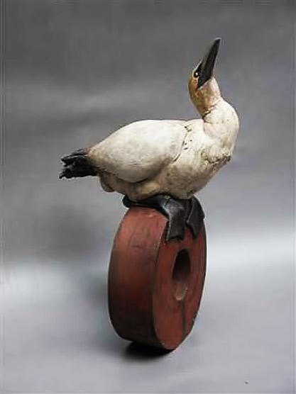 artpark_sculpture_Brendan Hesmondhalgh - Gannet bird sculpture