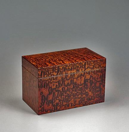 FUJII-Toshio lidded wooden box