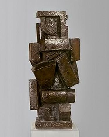 Figure--Alberto-Giacometti--1926--Bronze