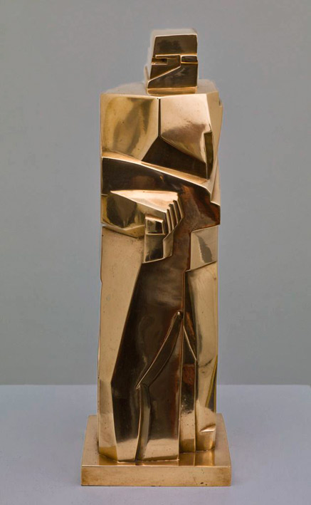 Abstract sculpture - Gendarme -John Bradley Storrs (1885-1956, American) 1919