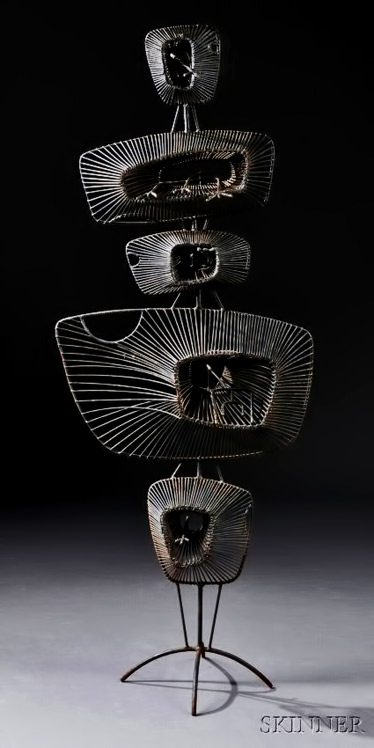 John-Risley-(1912-2002)-Lily-Pads-Sculpture,