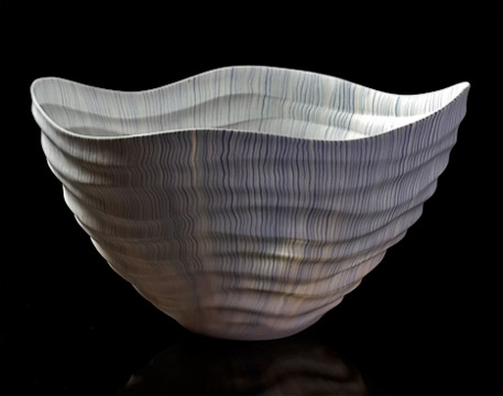 Nerikomi-Porcelain-「waterfall」---GALLERY-JAPAN---Japanese-traditional-art-craftsMUROFUSHI-Eiji