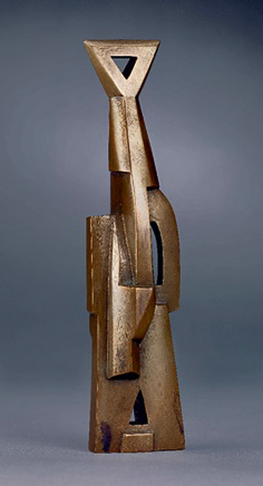 Ornement Torpille in cut brass by Henri Gaudier-Brzeska, 1914