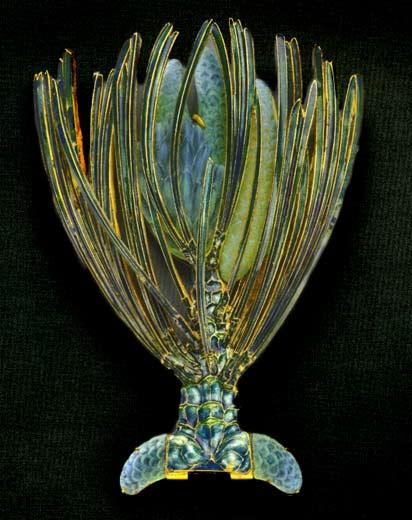René-Lalique.-Brooch - Pine Sprig 1900-1902