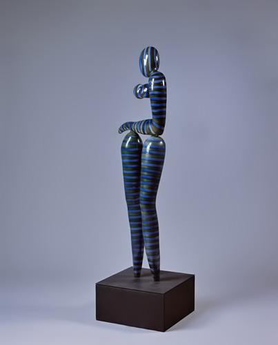 Alejandrina-Cappadoro standing figure abstract sculpture