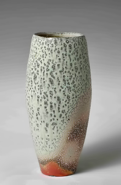 Australian-Studio-Ceramic-Art---Skepsi-Gallery Morning Mist' ceramic vessel  -  Gail Nichols