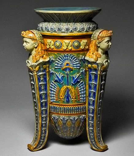 Art Deco Egypt Ceramics And Pottery Arts And Resources