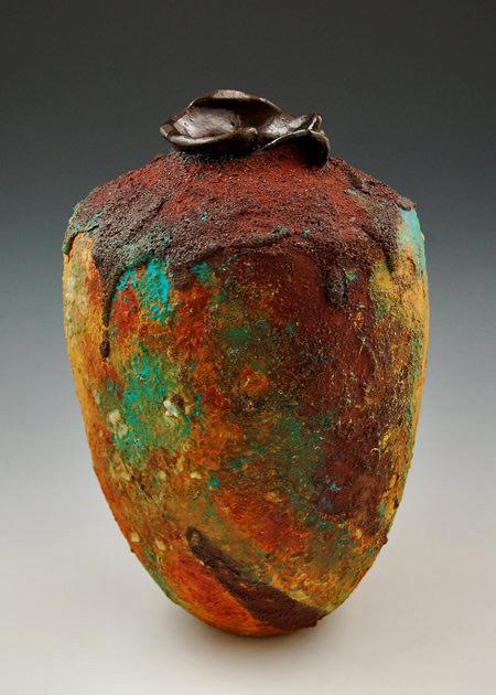 Melanie-Ferguson ceramic vessel contemporary