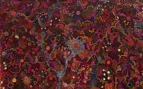 NungurrayiGabri_Bush-Tucker-Dreaming--My-Father's-Country,-2007-2008