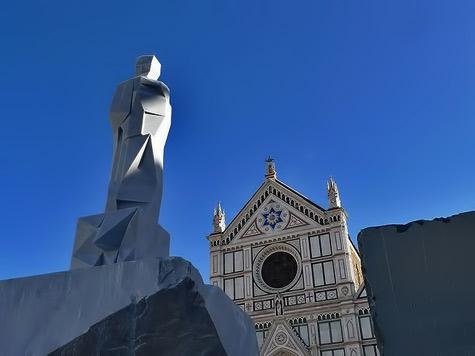 Basilica of Santa Croce - Florence,, Italy
