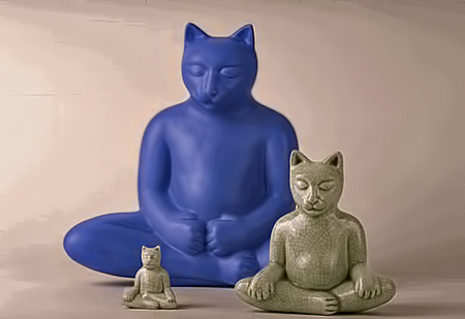 buddha-cats-and-animals-Gary Steinborn