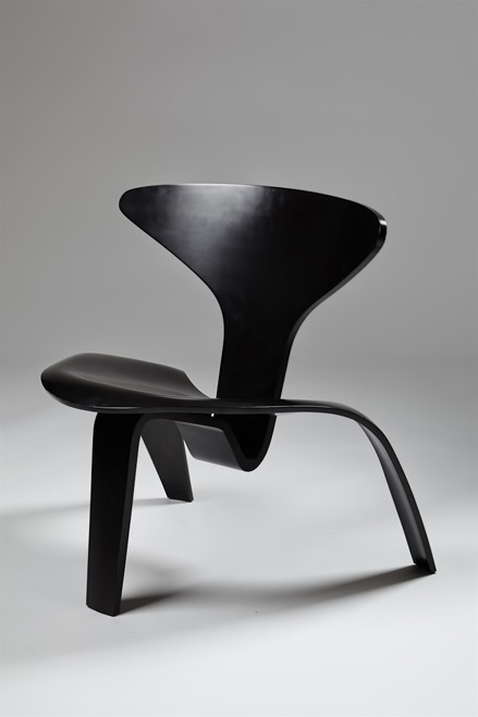 PK0,-chair-designed-by-Poul-Kjaerholm,-Denmark.-1952