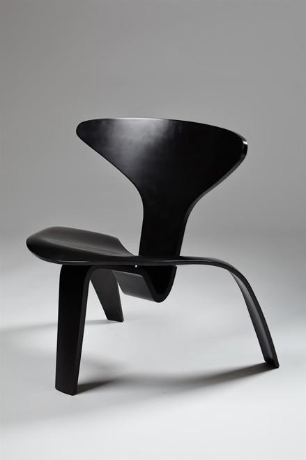 PK0,-chair-designed-by-Poul-Kjaerholm,-Denmark.-1952