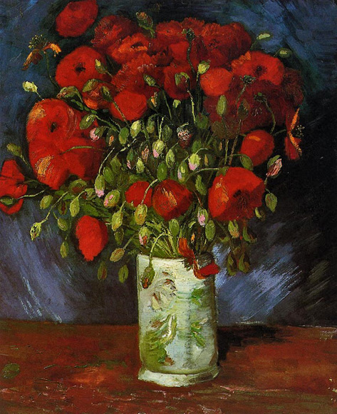 1886-Vase-with-Red-Poppies-oil-on-canvas-56-x-46