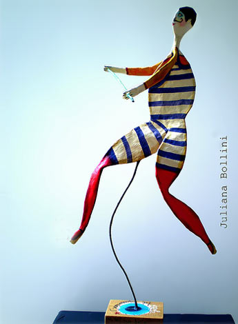 Circus performer - Juliana Bollini