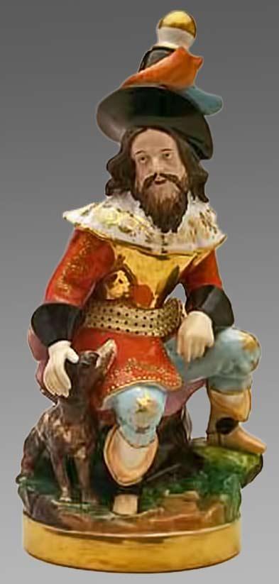 'Spanish-Buccaneer' figurine teapot