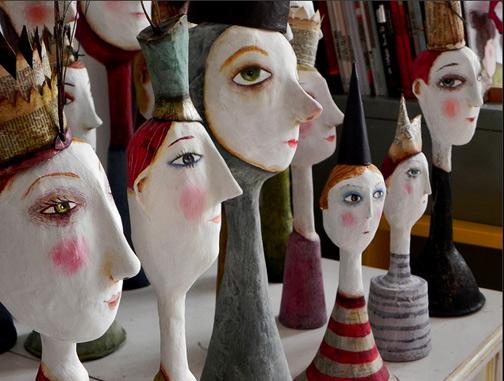 Flickriver--juliana-bollini-bust figures