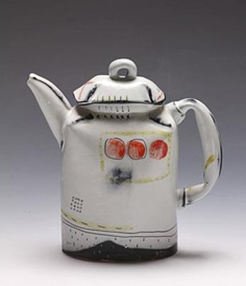 Josie Jurczenia contemporary teapot