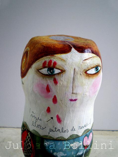 Juliana Bollini--ceramic bust