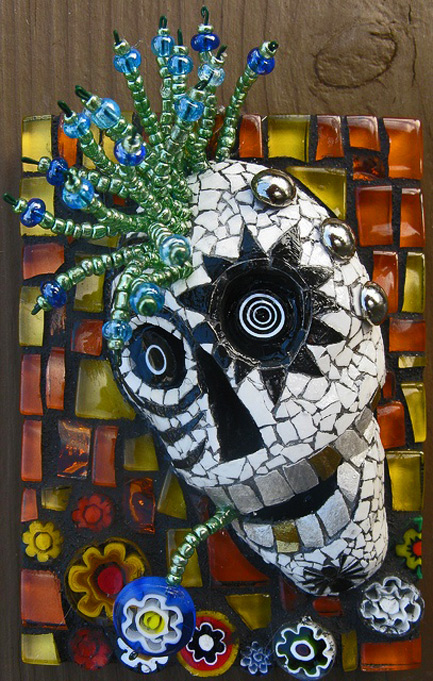 Linda-Biggers mosaic head