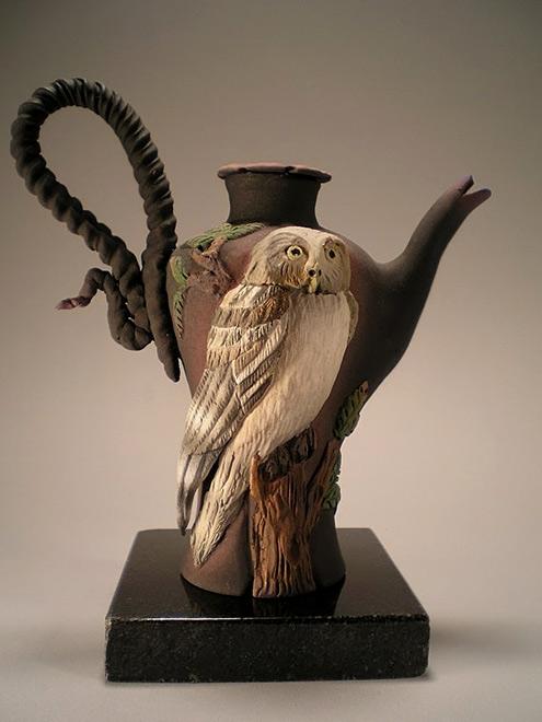 Nancy-Adams owl teapot
