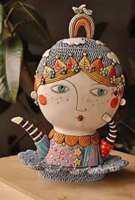 Natalya-Sots-Focused-on-creating-other-worldly-pottery-adorned-with-kaleidoscopic-polka---