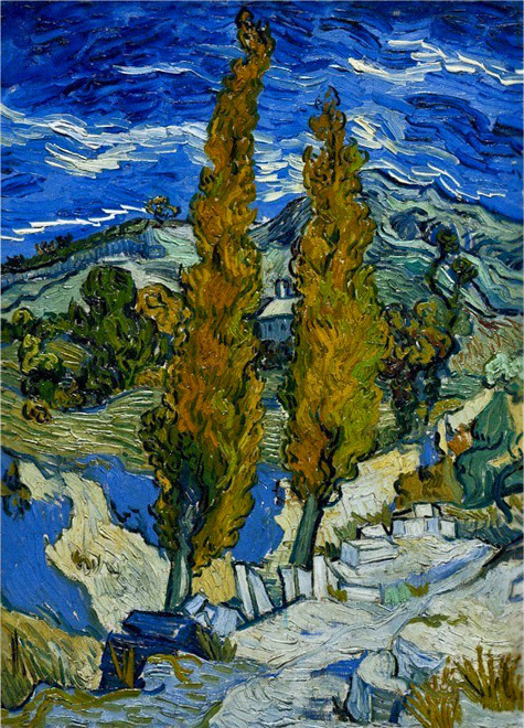 Vincent-van-Gogh-The-Paintings-(Two-Poplars-on-a-Road-Through-the-Hills)-1889-