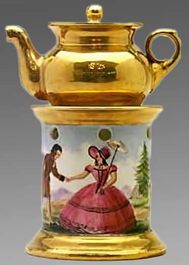 Teapot characters-(2)-of-Belle-Epoque.-Signed--Toulluc-1832.