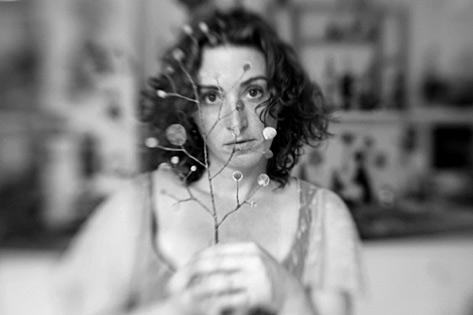 Juliana Bollini black and white portrait