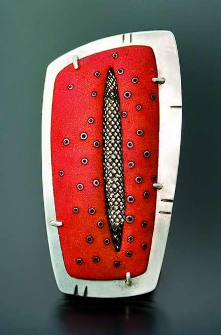 Angela-Gerhard---brooch---contemporary enamel