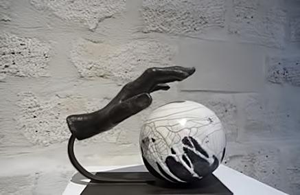 Annie Mauffrey-Céramiste---Sculptures Paris