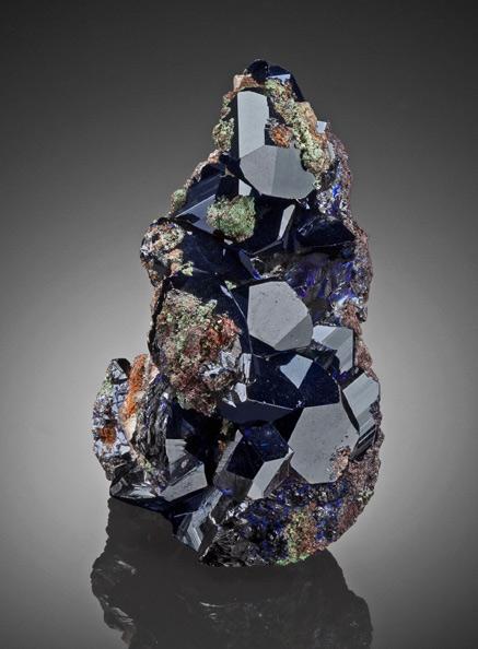 Azurite.-Easter-Pocket,-1994,-8th-Level,-Tsumeb-Mine,-Tsumeb,-Otjikoto-Region,-Namibia - Heritage Auctions