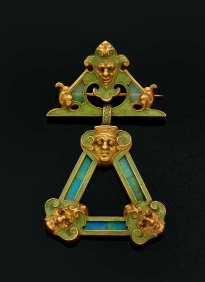 Brooch.-Rene-Lalique-(1860-1945).-Ca-1893-1896)