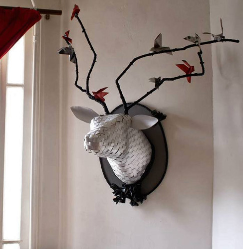 Jeanne-Pixi--wall sculptureal art