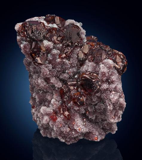 Sphalerite-&-Quartz.-Shuikoushan-Mine,-Shuikoushan-Ore-Field,-Changning-Co