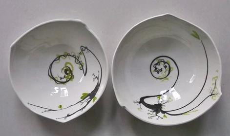 pottery---INKébana dish - Nicolas Contreras