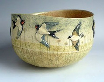 Anna-Lambert flying swallows cup