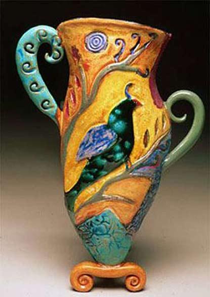 wall-pocket-vessel-by-Cathy Kiffney