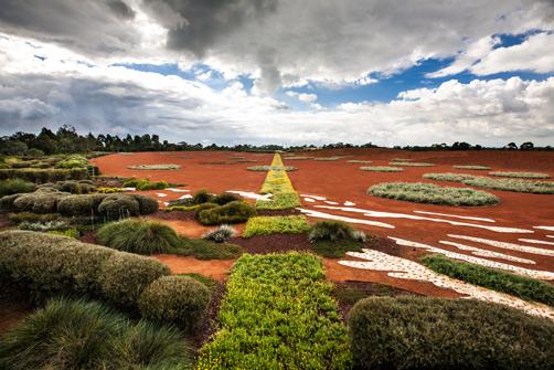 Cranbourne Botanical Red Sand Garden