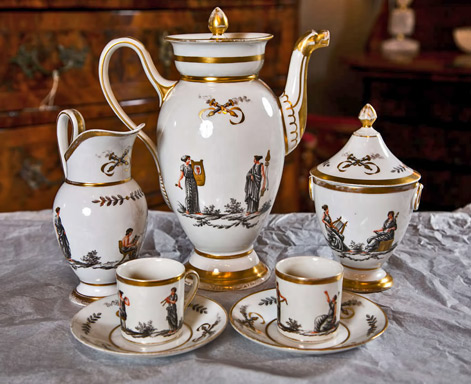 An-Early-19th-Century-French-Paris-Porcelain-Coffee-Set---1820-to-1850-Martinoja-Antiques-Stamford-CT