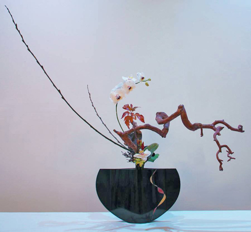 Ekaterina-Minina ikebana workshop